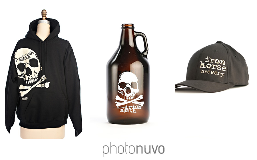 merchandise-photography-iron-horse-brewery