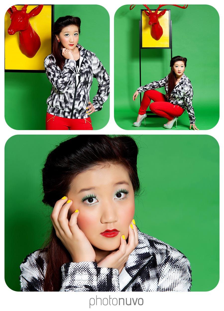senior picture model shoot